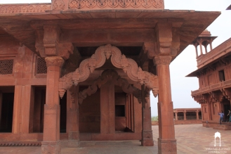 Astrologer's Seat at Fatehpur Sikri