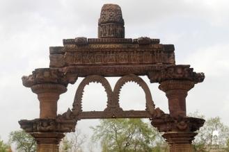 Closer View of Hingola Torana