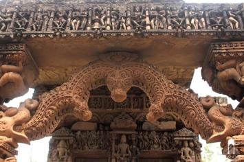 Ath Khambha Temple Ruins at Gayraspur, Madhya Pradesh