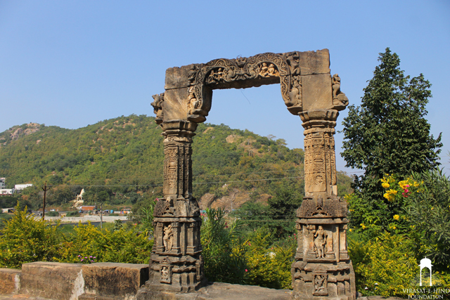 Harishchandra ni chori Temple at Shamlaji, Gujarat