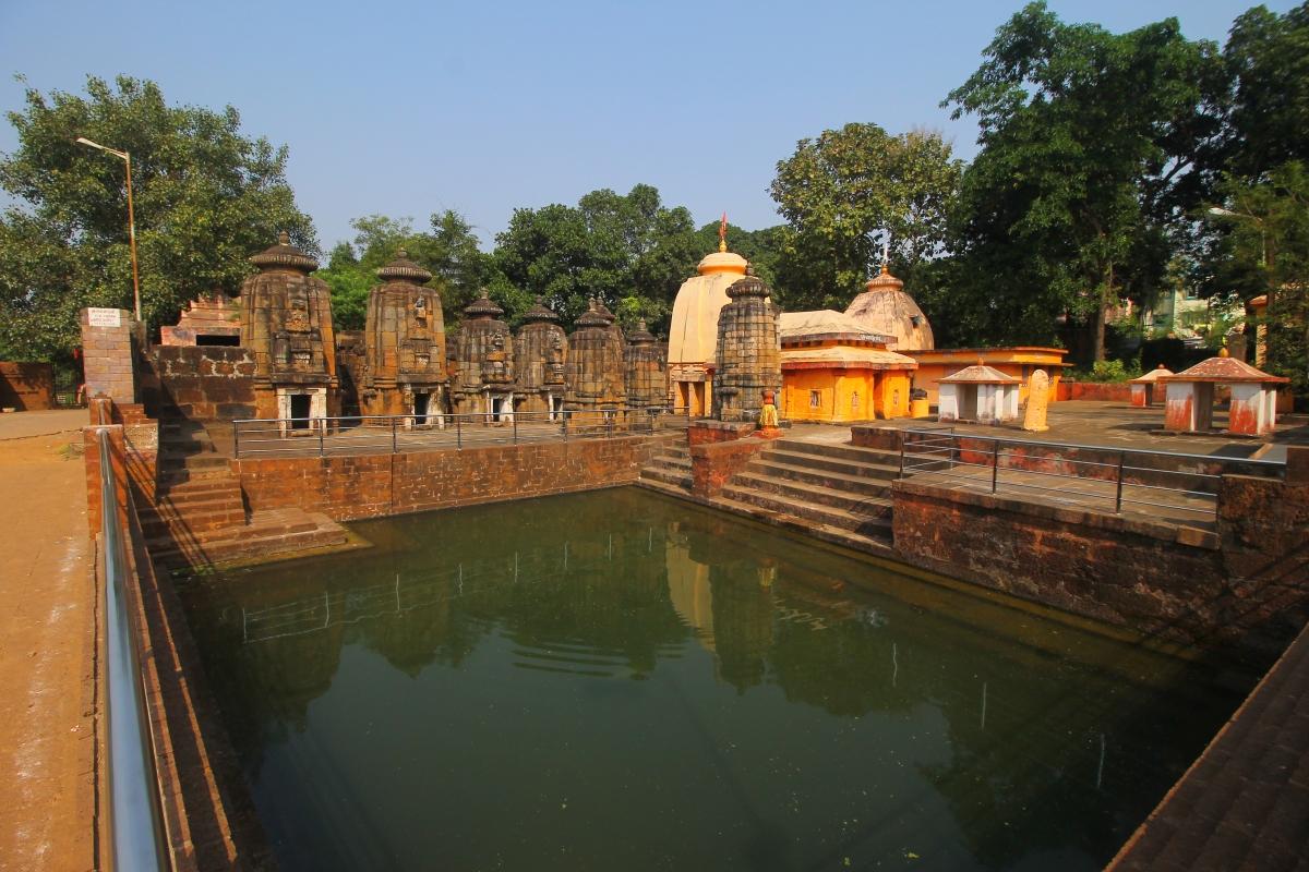 Sacred Tanks of EkamraKshetra