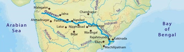 godavari-river-map