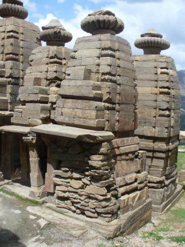 7 Miniature shrine, Katarmal, Almora, before