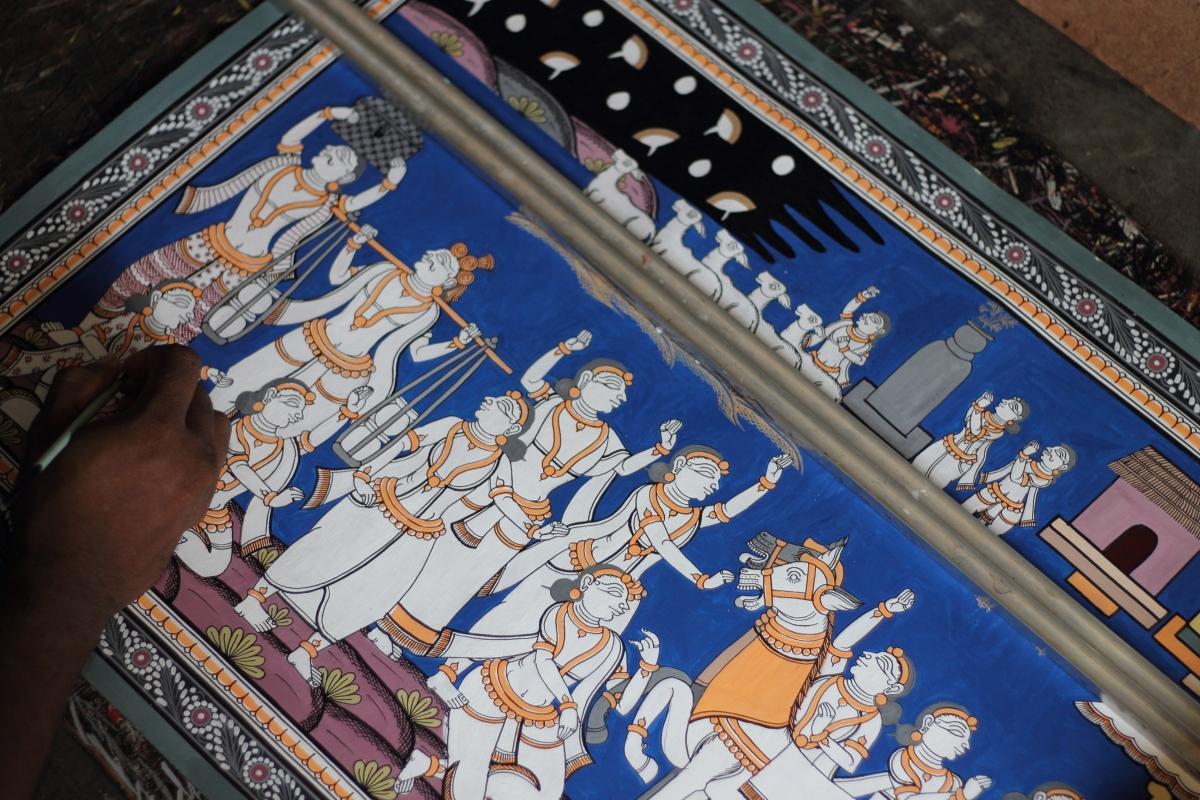 Raghurajpur – An Open AirMuseum
