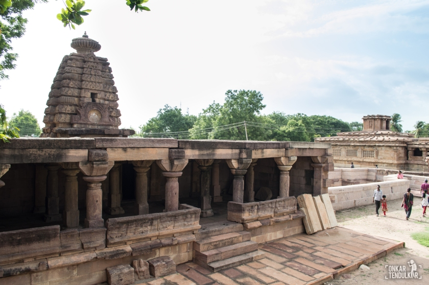 Aihole Chakra gudi temple