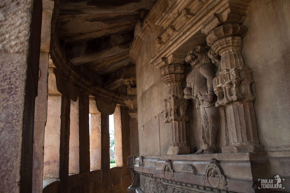 Aihole Durga ambulatory 2