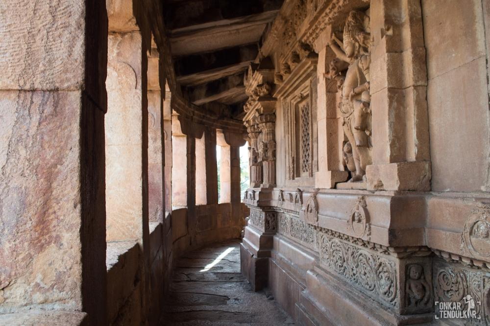 Aihole Durga temple ambulatory 1