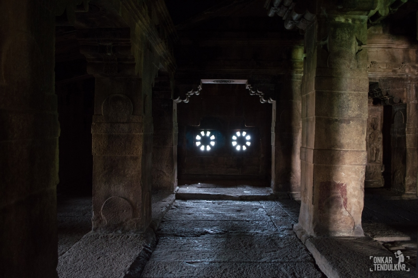 Aihole Ladkhan temple- inside