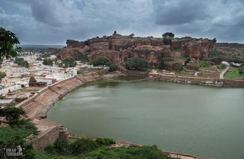 Badami Agastya lake & Shivalaya temples