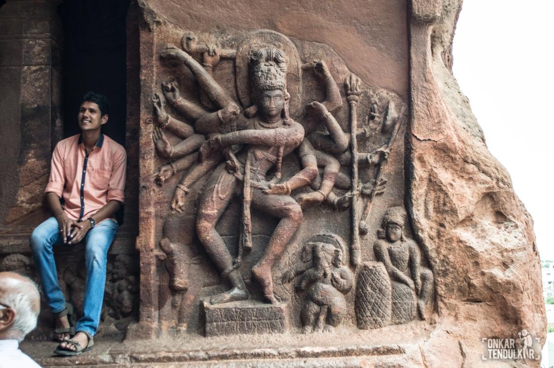 Badami Cave 1 - Nataraja