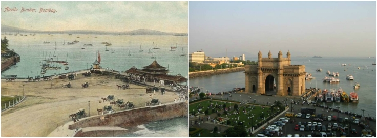 GatewayofIndia Then and Now