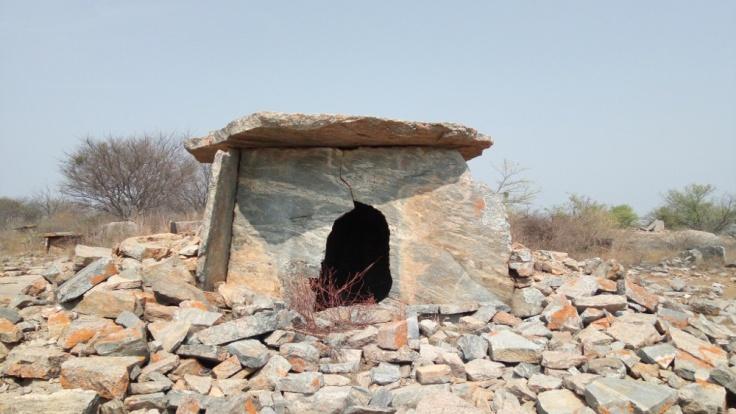 4. Dry masonry wall cist
