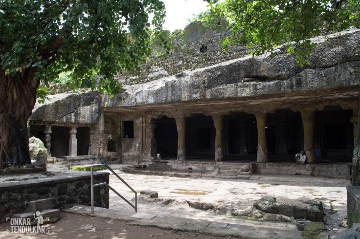 facade of Mandapeshwar cave