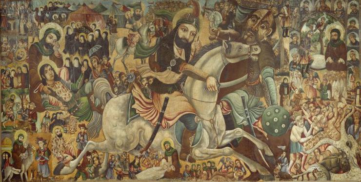 Brooklyn_Museum_-_Battle_of_Karbala_-_Abbas_Al-Musavi_-_overall (1)