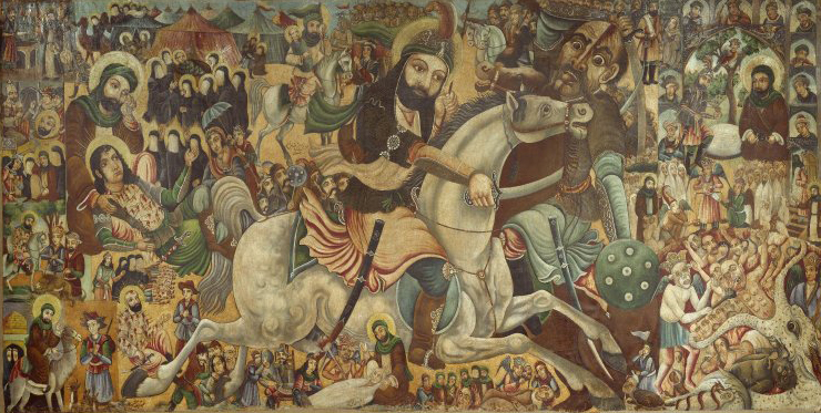 Brooklyn_Museum_-_Battle_of_Karbala_-_Abbas_Al-Musavi_-_overall (1)