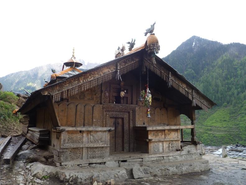 Duryodhan temple at Osla