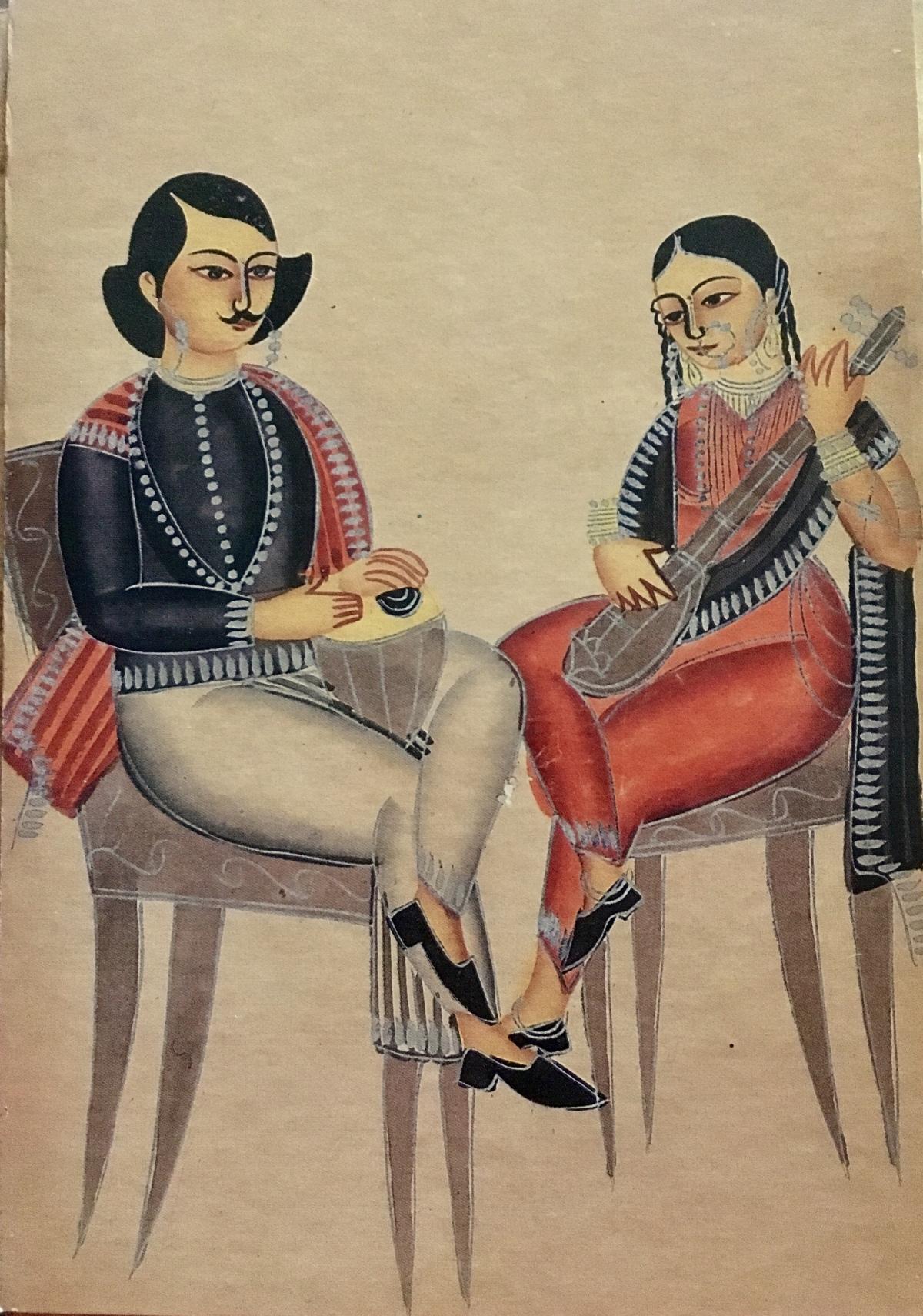Kalighat Patachitra – AJourney