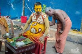 Muthappan make up