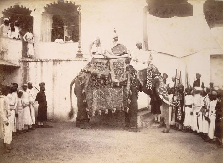 16-His Highness Maharana of Odeypur, 1890, British Library