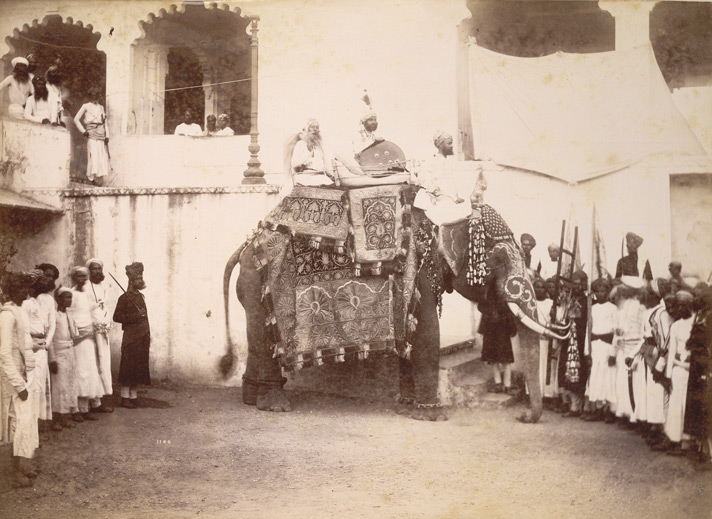 16-His Highness Maharana of Odeypur, 1890, British Library