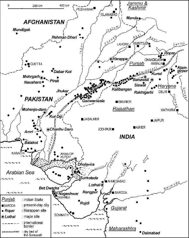 Sindhu-Saeaswati Sites