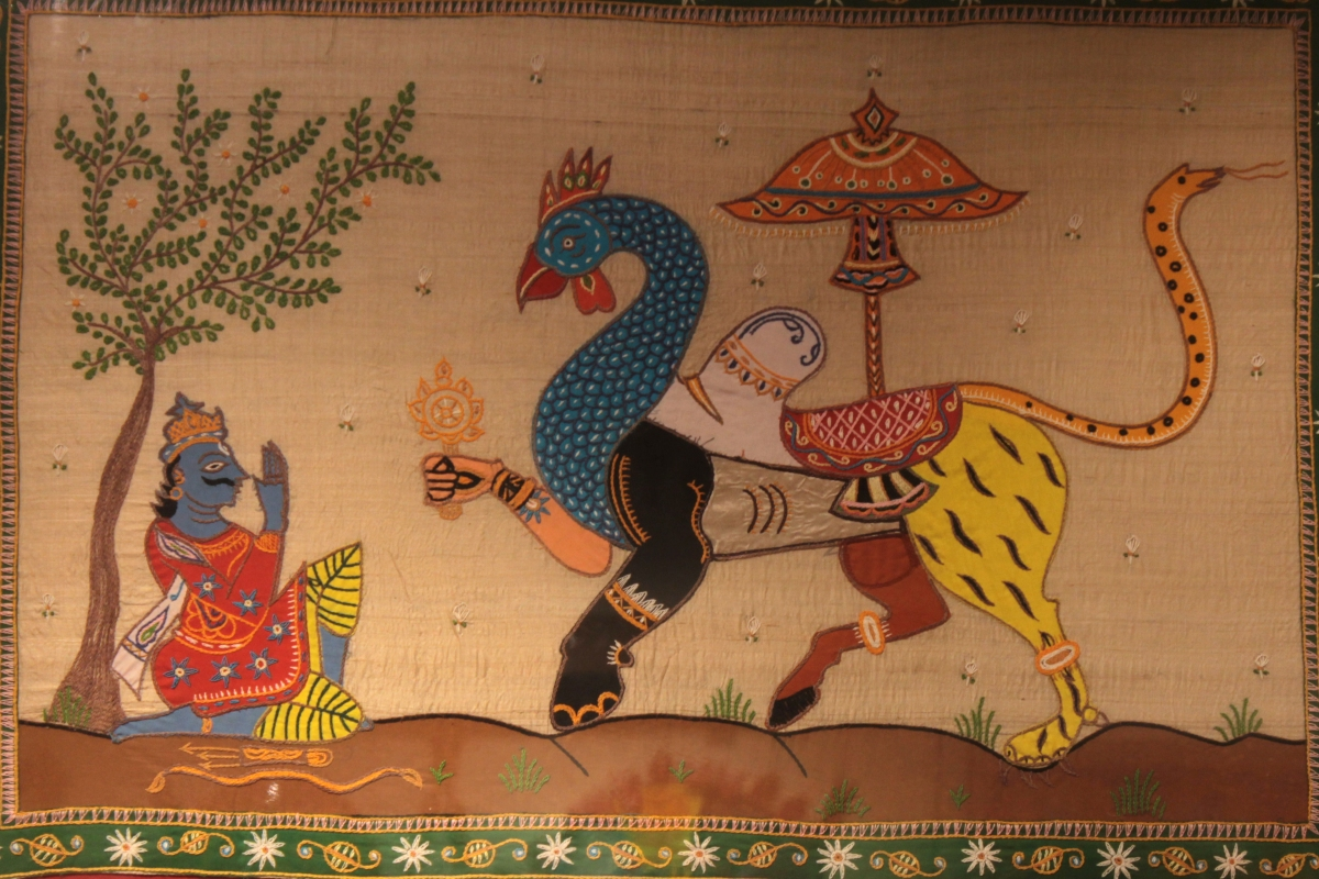 Appliqué – Celebrating Colours of Odisha