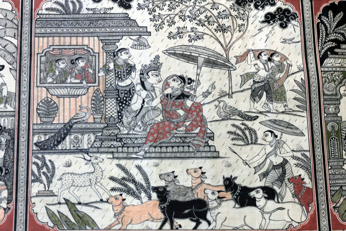 Celebrating Seasons through Pattachitra