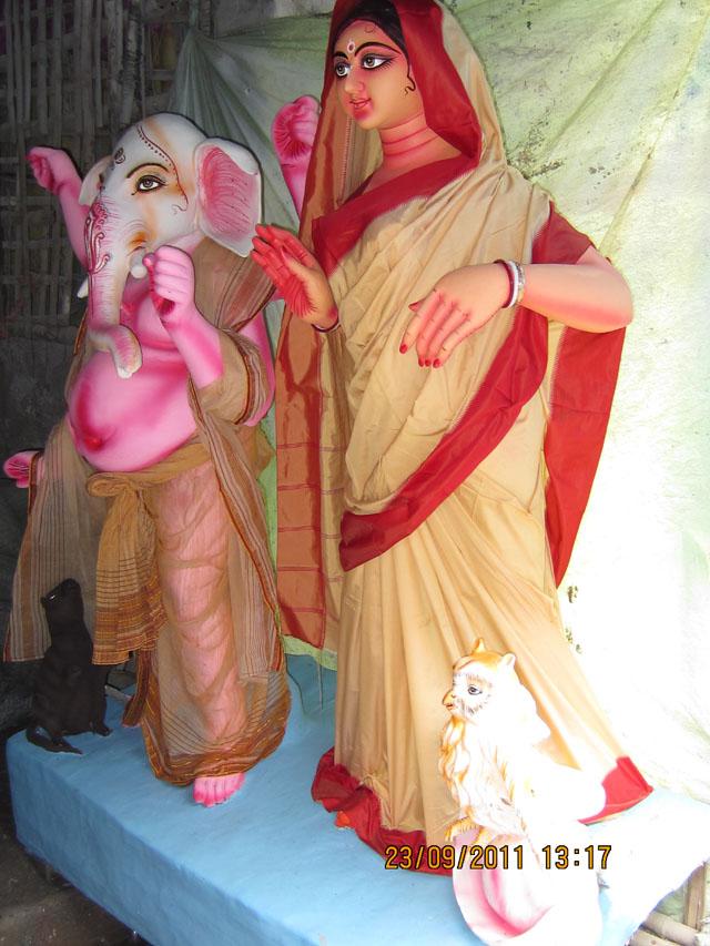 Ganesha and Lakshmi